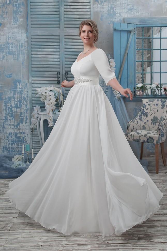 bab48643a0d1f55 Свадебные платья для полных в салоне Я-Невеста!